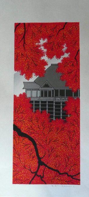 Kiyomizu Temple in Autumn -Kato, Terhuhide
